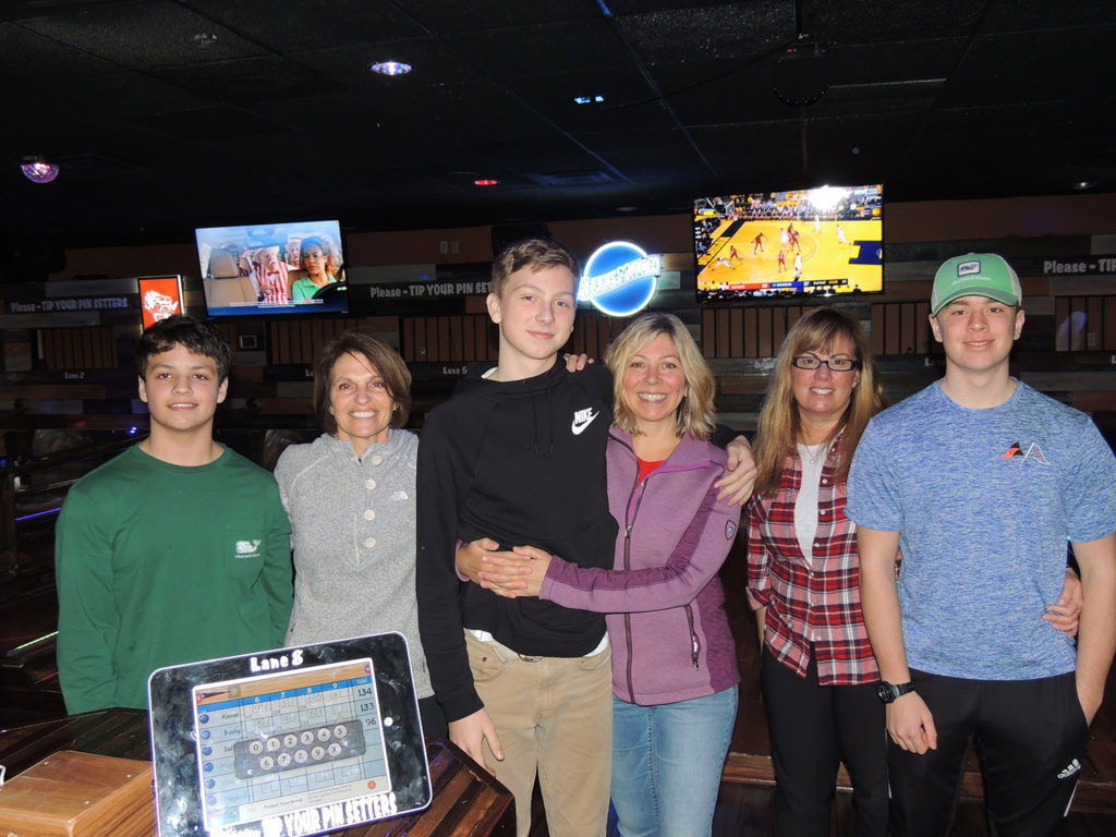 Mother Son Bowling